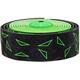 Supacaz Super Sticky Kush Styretape Star Fade Grønn/Svart